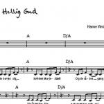 Noder: Hellig Gud (pdf download)